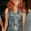 Tyra Banks Clothes - Denim Shirt