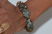 Tyra Banks Gemstone Bracelet