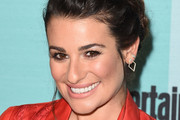 Lea Michele Braided Updo