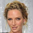 Uma Thurman Hair - Bobby Pinned updo