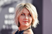 Julianne Hough Messy Cut