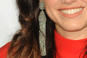 Vail Bloom Dangling Chain Earrings