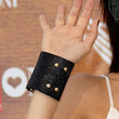 Valeria Solarino Leather Bracelet