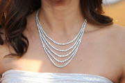 Valerie Cruz Layered Diamond Necklace