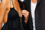 Vanessa Hudgens Silver Lariat Necklace