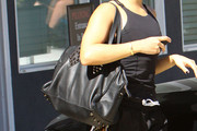 Vanessa Hudgens Studded Shoulder Bag
