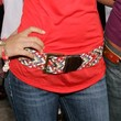 Victoria Justice Leather Belt