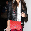 Victoria Justice Quilted Leather Bag