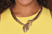 Wendy Raquel Robinson Gold Statement Necklace