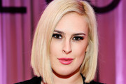 Rumer Willis Asymmetrical Cut