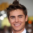Zac Efron Hair - Messy Cut