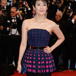 Zhang Ziyi Clothes - Peplum Top