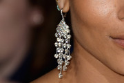 Zoe Kravitz Diamond Chandelier Earrings