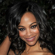 Zoe Saldana Hair - Medium Curls