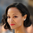 Zoe Saldana Hair - Retro Updo