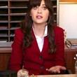 Zooey Deschanel Clothes - Blazer