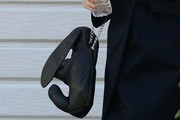 Zooey Deschanel Chain Strap Bag
