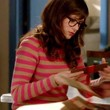 Zooey Deschanel Clothes - Crewneck Sweater