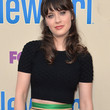Zooey Deschanel Clothes - Crop Top