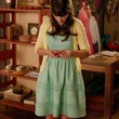 Zooey Deschanel Clothes - Day Dress