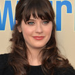Zooey Deschanel Hair - Half Up Half Down