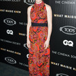 Zosia Mamet Clothes - Print Dress