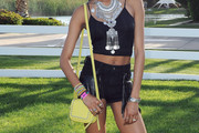 Jourdan Dunn Studded Shoulder Bag