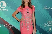 Stacy Keibler Beaded Dress