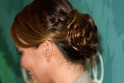 Chrissy Teigen Braided Bun