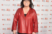 Rosie O'Donnell Leather Jacket
