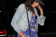 Nina Dobrev Denim Jacket