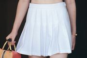 Elle Fanning Tennis Skirt