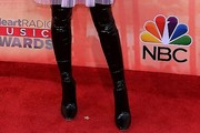 Hailee Steinfeld Over the Knee Boots