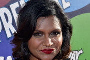 Mindy Kaling Short Wavy Cut