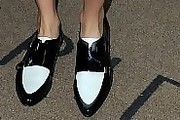 Cara Delevingne Flat Oxfords