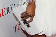 Naomi Campbell Leather Clutch