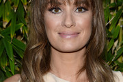 Catt Sadler Long Wavy Cut with Bangs
