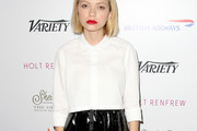 Tavi Gevinson Button Down Shirt