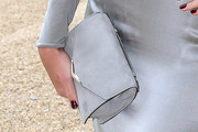Margot Robbie Suede Clutch