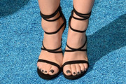 Lucy Hale Strappy Sandals