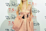 Elle Fanning Cocktail Dress