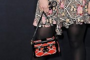 Dianna Agron Printed Shoulder Bag