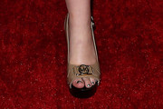 Joey King Peep Toe Pumps