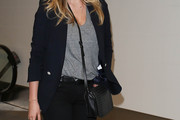 Kate Upton Leather Shoulder Bag