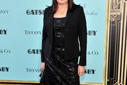 Anjelica Huston Little Black Dress