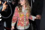 Ashley Olsen Sequined Jacket