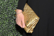 Toni Collette Metallic Clutch