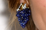 Olivia Palermo Dangling Gemstone Earrings
