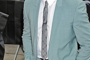 Anthony Mackie Geometric Tie
