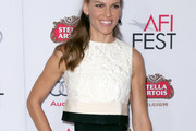 Hilary Swank Crop Top